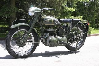 1957 Triumph TRW 500 Canadian Military For Sale (2)