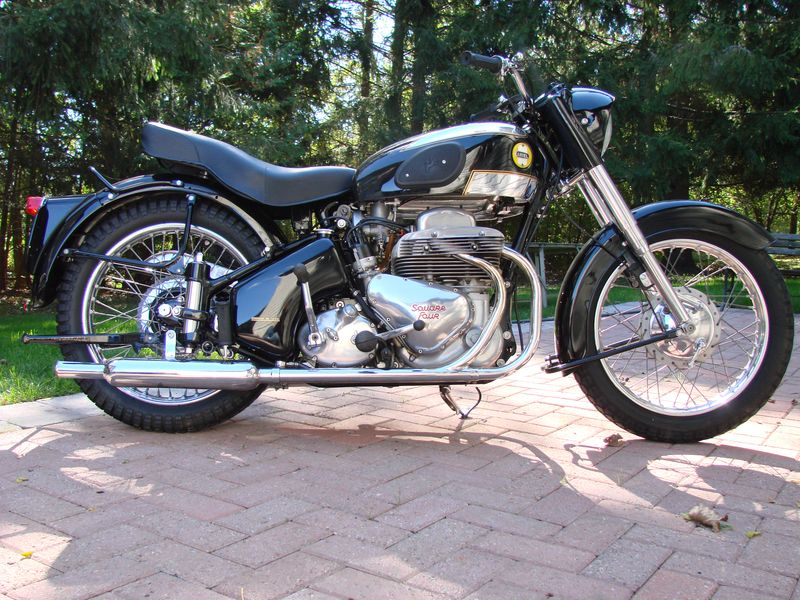 1957 Ariel Square Four For Sale
