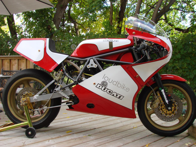 Loudbike Ducati TT1 Right Side